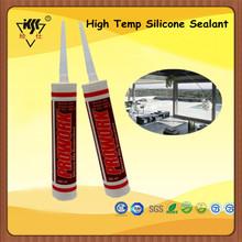Density Plastic silicone sealant High Temp 300ml Silicone Glue