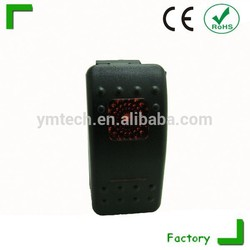 Hot ! High quality Electrical rocker switch used for marine/ auto/ boat with LED