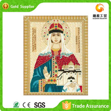 Wholesale Provider Of Religion Painting And Calligraphy Diy Rhinestone Embroidery Drawing Mosque Oil Painting