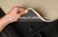 Poly Flocking car floor mats with anti-skid bottom Manufacturers in shanghai