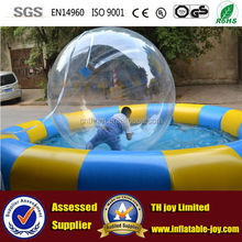 2mdia pvc or tpu water walking ball,human hamster ball for sale