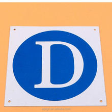 High Quality Reflective Custom Warning Road Traffic Signal Sign