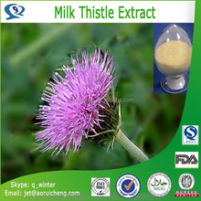 Hot sale milk thistle extract with superior quality, factory supply milk thistle extract