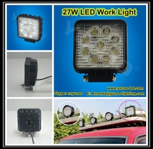 Hot!! offroad led work light for car, motorcycles, jeep, atv, utv 10w 12w 18w 27w 36w 48w led 12v car work light