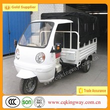 200cc Motor Tricycle with cabin and Cargo Box Cover/ Cabin Three wheel motorcycle
