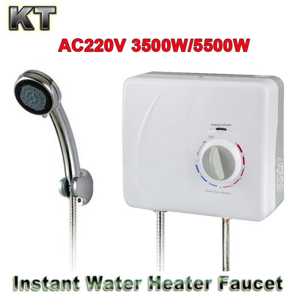 ELectric instant water heater shower01