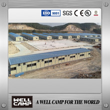 Prefabricated house/Prefab Home/steel structure for UAE CDB area construction