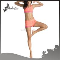 2015New Style Blank Compression yoga wear lycra Gym Shorts