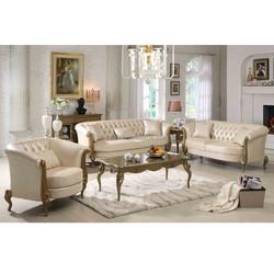 neoclassical series 5330# wooden furniture model sofa set