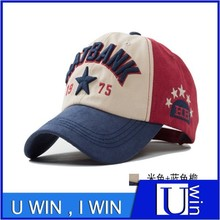 five-pointed star outdoor sport embroidery authentic baseball hat