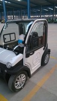 Two Seats Four-wheel Cheap Electric Mini Car