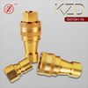 KZD male/female plug and socket hydraulic quick coupler