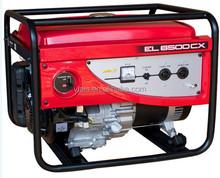 Factory price top sale EC6500CX vls company export 110v 220v gasoline generators