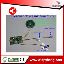 Sound Recordable Card Module/Music Card Recordable IC Chip