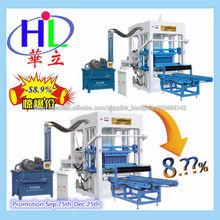 máquina para ladrillos maquillaje QT4-15 maquina para fabricar en venezuela