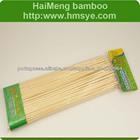espetos de bambu tamanho médio (25cm) com 50 e 100 unidades
