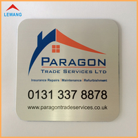 Promotional Cup Coasters Wiredrawing & Silk-Screen Printing Colorful Aluminium Coasters