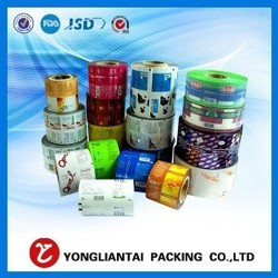 LLDPE Material and Stretch Film Type plastic cup sealing roll film