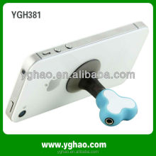 Newest gadgets promotional gift of 2 ways 3.5mm stereo earphone