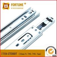 Furniture ball bearing linear drawer slide