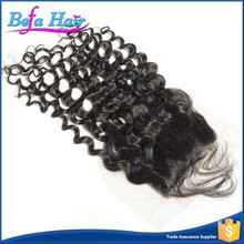 Most Popular Can Be Curled And Colored Cheap Human Hair Malaysian Curly Hair Closure