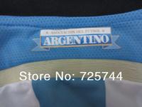 Лавесси 22-Джерси, .embroidery логотип Аргентина дома футбол Униформа Месси Кун Агуэро ди Мария marodona футбол Наборы