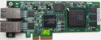 42C1772 42C1771 iSCSI Dual 2 Port Card PCI-e HBA QLogic Network Card working