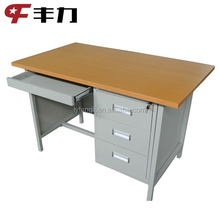 cheap office desk with locking drawers/latest office table designs/adjustable height office table