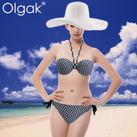 Olgak Black Newest Hot Sexy Bikini Girl Bathing Suit Swimwear Fashion Bikini Swimming Suits
