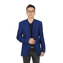 New Style Men's Blazer Fashion Blue Suit Coat for Men
