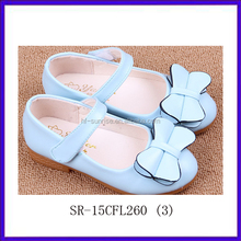 SR-15CFL260(3) little girls fashion dress pu shoes face leather china teens made shoes new cheap wholsale shoes in china