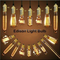 Home Decor ST64 Edison Bulb 40W Vintage Edison Light Bulb Manufactuers