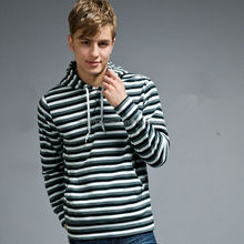 new arrival stripped pattern sports hoodies for men clothing Alibaba wholesale China OEM