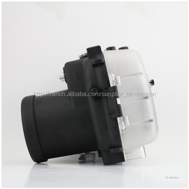 Meikon boîtiers de caméra étanche pour Canon EOS 600D