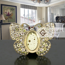Alloy butterfly photo picture frame