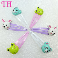 brand name hair accessories cute animal shape resin magnetic handmade kids hairpin