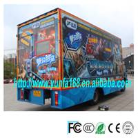 wow!new product 5d mobile cinema car truck amusement rides with home theater music system for sale 2014 hot