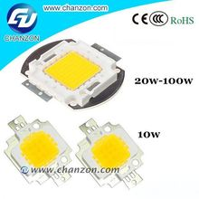 Wholesale supplier white warm white RGB light Epistar Integrated high power Led chip 70w uv led curing