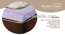 gel-infused memory foam mattress