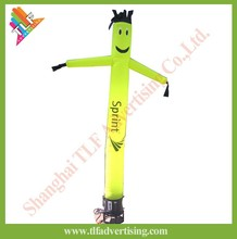 Inflatable minion air dancer with blower