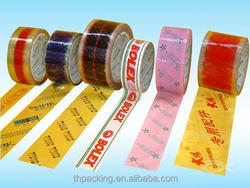 Popular moisture proof packaging material, crystal sealing tape stationery