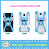 Latest fashion Protective smartphone case silicone rubber cute mobile phone cover wholesale