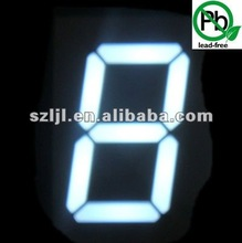 led digital number display 20''/20 inch Super Bright Green single digit display
