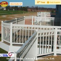 Hot dipped galvanized metal railing