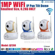 2015 Super Mini WiFi PT dome indoor HD720P 1280*720 QF200 hidden mini microphone