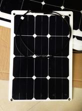 sunpower solar cells high efficiency pv 30 watt solar panel