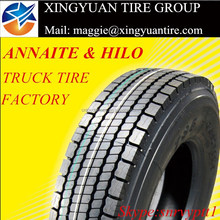 import tyres from china AMBERSTONE ANNAITE HILO brand factory 315/80R22.5 295/80R22.5