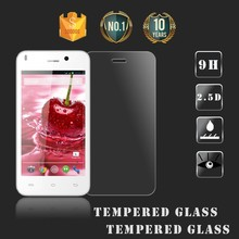 Anti-fingerprints 0.33mm 2.5D Round Edge Japanese Asahi Tempered Glass AB Glue Screen Protector for Lava Iris X1mini OEM/ODM