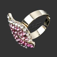 rhinestone and gemstone of good Quality rings