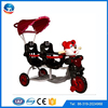 Cheap kids twins tricycle from china factory /Baby Child Kid twins double seat tricycle